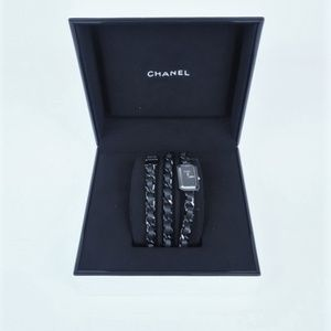 Chanel Premiere Rock Watch Steel with Black NEW